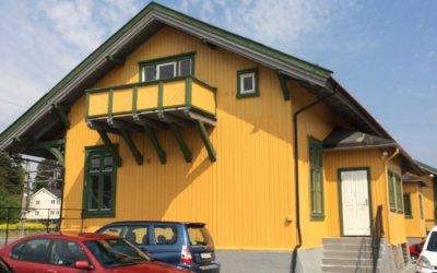 Vikersund stasjon