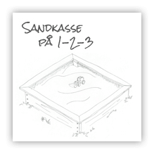Sandkasse på 1-2-3… 4-5-6